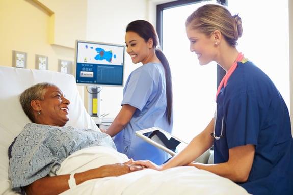 preventing pressure sores in hospitals