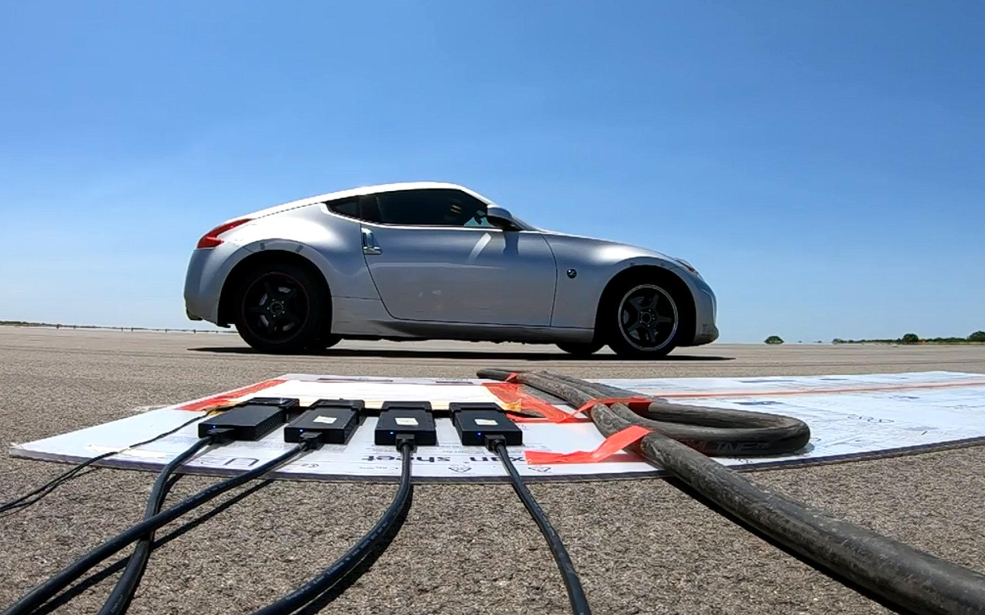 Optimizing Tire Design: Dynamic Tire Footprint Testing at Any Speed
